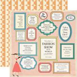 Metropolitan Girl: Affirmations 12x12 Patterned Paper