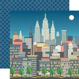 Metropolitan Girl: Big City Shopping 12x12 Patterned Paper