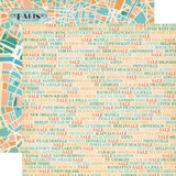 Metropolitan Girl: Shopping Cities 12x12 Patterned Paper