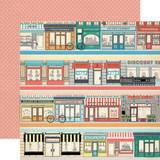 Metropolitan Girl: Border Strips 12x12 Patterned Paper