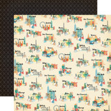 Metropolitan Girl: Girls and Cities 12x12 Patterned Paper
