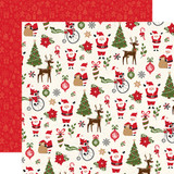 My Favorite Christmas: Christmas Fun 12x12 Patterned Paper