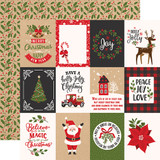 My Favorite Christmas: 3x4 Journaling Cards 12x12 Patterned Paper