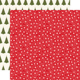 My Favorite Christmas: Snow Flurries 12x12 Patterned Paper