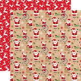 My Favorite Christmas: Jolly Santa 12x12 Patterned Paper