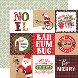 My Favorite Christmas: 4x4 Journaling Cards 12x12 Patterned Paper