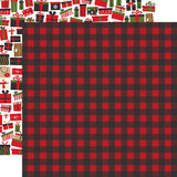 My Favorite Christmas: Winter Flannel 12x12 Patterned Paper