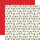 My Favorite Christmas: Peace Joy Love 12x12 Patterned Paper