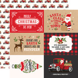 My Favorite Christmas: 4x6 Journaling Cards 12x12 Patterned Paper