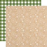My Favorite Christmas: White Winter 12x12 Patterned Paper