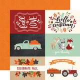 My Favorite Fall: 4x6 Journaling Cards 12x12 Patterned Paper