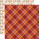 My Favorite Fall: Fall Plaid 12x12 Patterned Paper