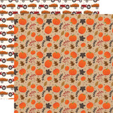 My Favorite Fall: Pumpkin Patch 12x12 Patterned Paper