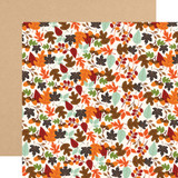 My Favorite Fall: Falling Leaves 12x12 Patterned Paper