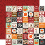 My Favorite Fall: Farm Squares 12x12 Patterned Paper