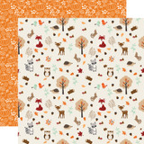 My Favorite Fall: Fall Friends 12x12 Patterned Paper