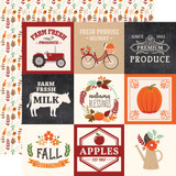 My Favorite Fall: 4x4 Journaling Cards 12x12 Patterned Paper