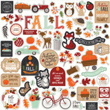 My Favorite Fall: Element Sticker Sheet