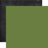 My Favorite Fall: Green/Chalkboard 12x12 Solid Paper