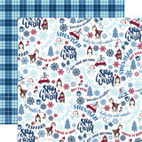 My Favorite Winter: Stay Warm 12x12 Patterned Paper