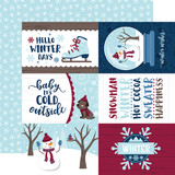 My Favorite Winter: 4x6 Journaling Cards 12x12 Patterned Paper