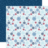 My Favorite Winter: Snow Much Fun 12x12 Patterned Paper