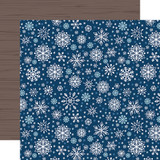 My Favorite Winter: Sparkling Snowflakes 12x12 Patterned Paper