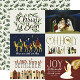 Oh Holy Night: 4x6 Journaling Cards 12x12 Patterned Paper