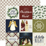 Oh Holy Night: 4x4 Journaling Cards 12x12 Patterned Paper
