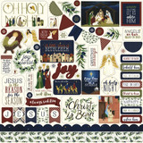 Oh Holy Night: Element Sticker Sheet