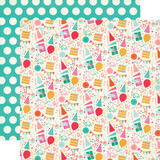 Party Time: It's Your Day 12x12 Patterned Paper
