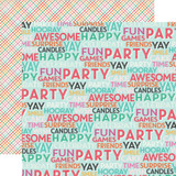 Party Time: Surprise Party 12x12 Patterned Paper