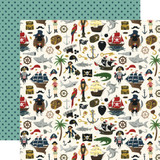 Pirate Tales: Walk the Plank 12x12 Patterned Paper