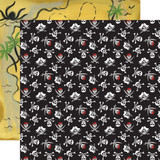 Pirate Tales: Jolly Roger 12x12 Patterned Paper