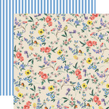 Practically Perfect: Garden Melody 12x12 Patterned Paper