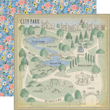 Practically Perfect: City Park 12x12 Patterned Paper