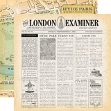 Practically Perfect: London Examiner 12x12 Patterned Paper