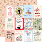 Practically Perfect: 3x4 Journaling Cards 12x12 Patterned Paper