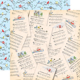 Practically Perfect: Sweet Songs 12x12 Patterned Paper