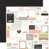 Rustic Elegance: Labels 12x12 Patterned Paper