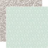 Rustic Elegance: Jars 12x12 Patterned Paper