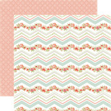 Rustic Elegance: Chevron 12x12 Patterned Paper