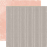 Rustic Elegance: Gray Stripe 12x12 Patterned Paper