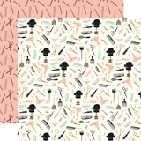 Salon: Hair Appointment 12x12 Patterned Paper