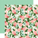 Salon: Salon Floral 12x12 Patterned Paper