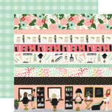 Salon: Border Strips 12x12 Patterned Paper