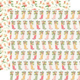 Spring Market: Rainboots 12x12 Patterned Paper