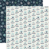 Snow Much Fun: Snow Globes 12x12 Patterned Paper