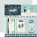 Snow Much Fun: 4x6 Journaling Cards 12x12 Patterned Paper