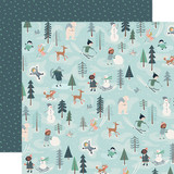 Snow Much Fun: Fun With Friends 12x12 Patterned Paper